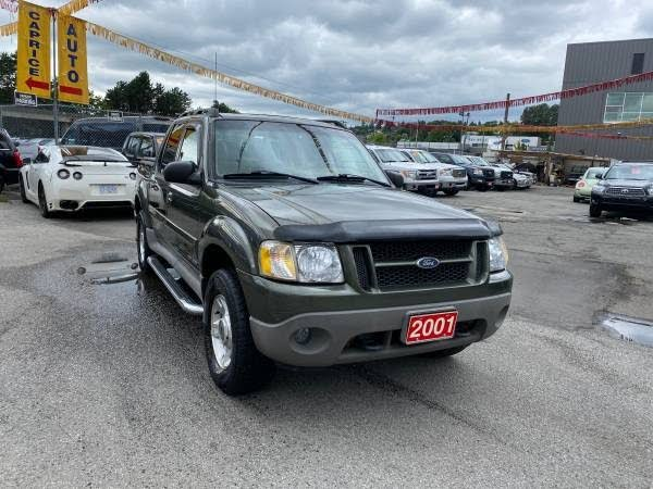 2001 Ford Explorer Sport Trac 4WD Crew Cab