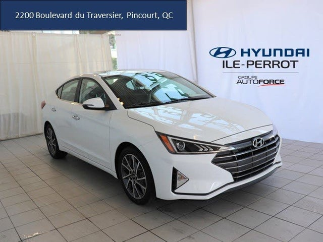 2019 Hyundai Elantra Luxury Sedan FWD