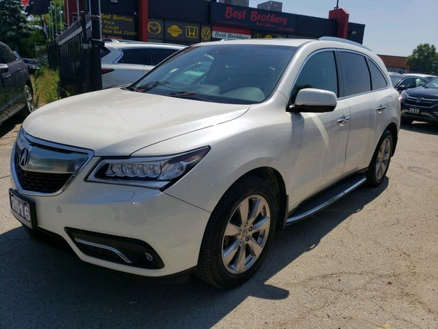 2016 Acura MDX SH-AWD with Elite Package