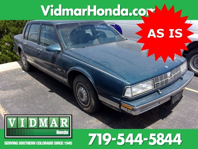 1989 Oldsmobile Ninety-Eight Regency Brougham Sedan FWD