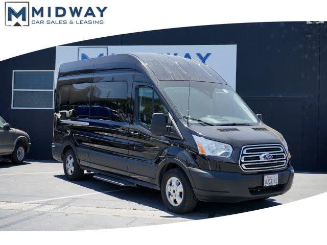 2019 Ford Transit Passenger 350 XLT High Roof LWB RWD with Sliding Passenger-Side Door
