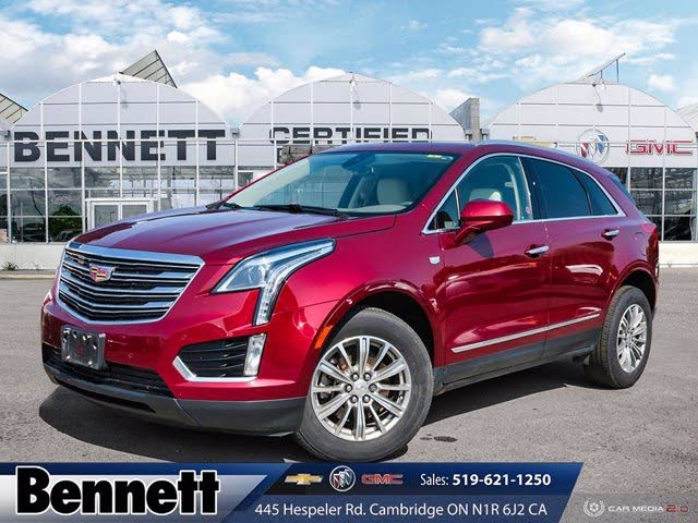 2017 Cadillac XT5 Luxury FWD