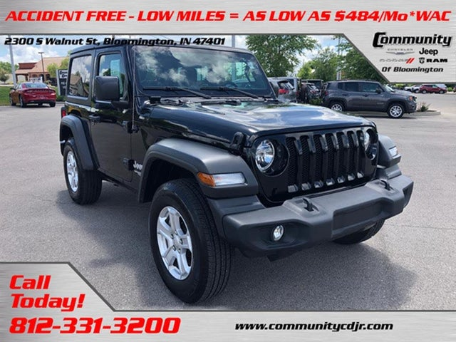 Used Jeep Wrangler For Sale In Evansville In Cargurus