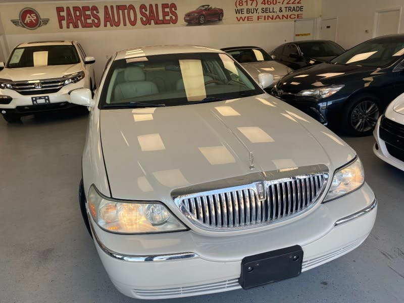 Used Lincoln Town Car For Sale In Dallas Tx Cargurus