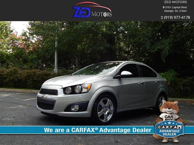 Used Chevrolet Sonic For Sale In Raleigh Nc Cargurus