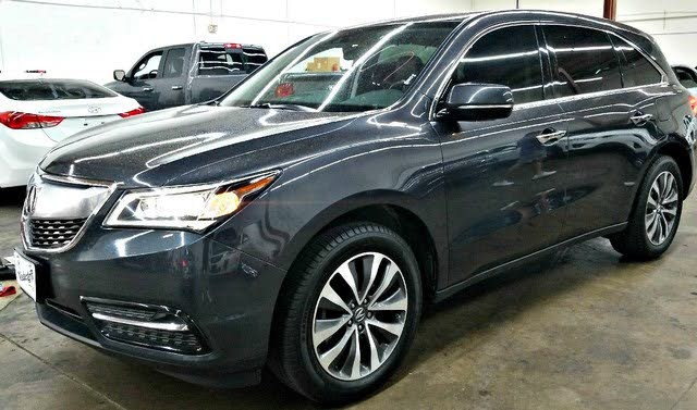 2015 Acura MDX FWD with Technology and Entertainment Package