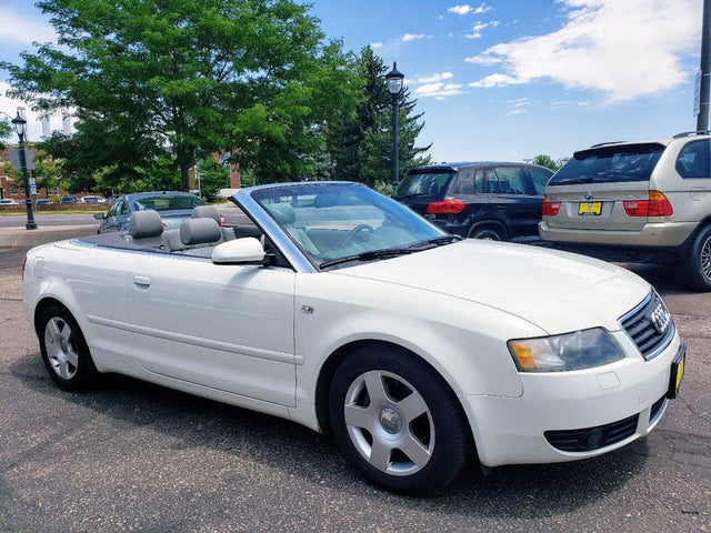 2003 Audi A4 1.8T Cabriolet FWD
