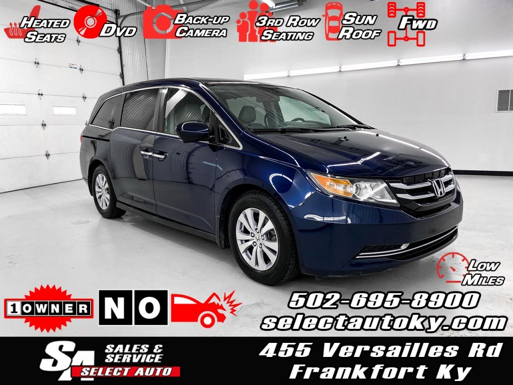 Used Honda Odyssey For Sale In Frankfort Ky Cargurus