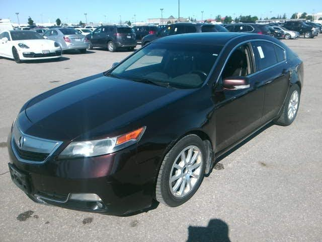 2012 Acura TL FWD with Technology Package