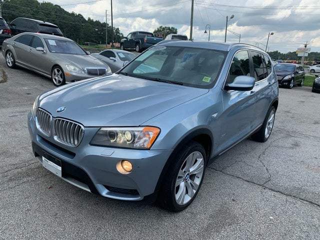 2012 BMW X3 xDrive35i AWD