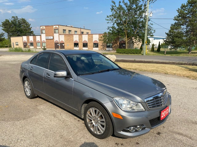2012 Mercedes-Benz C-Class C 250 4MATIC Sedan