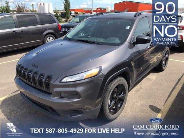 2017 Jeep Cherokee Sport Altitude 4WD