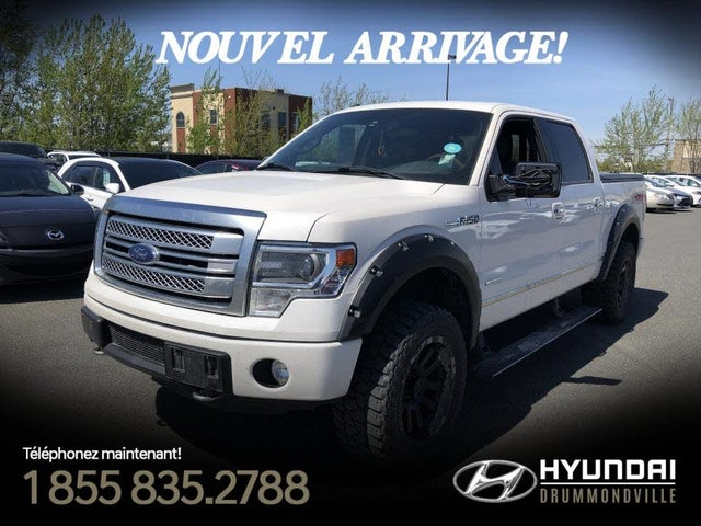 2013 Ford F-150 Platinum SuperCrew 4WD