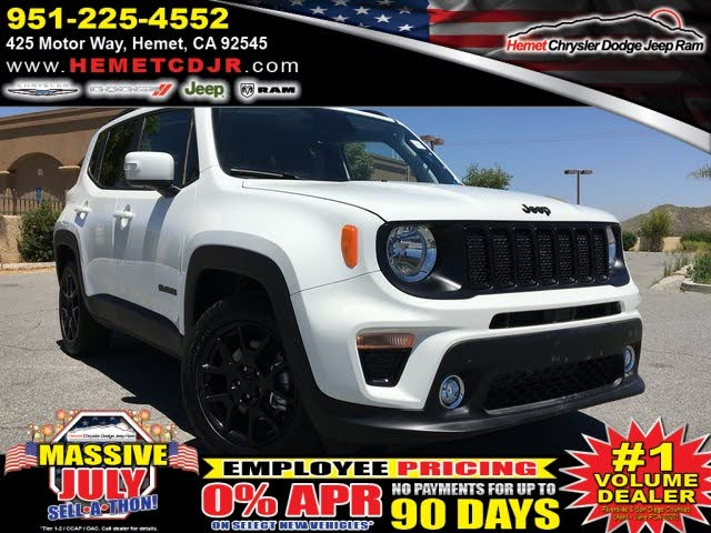 2020 Jeep Renegade Altitude FWD