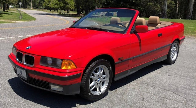 1995 BMW 3 Series 318i Convertible RWD