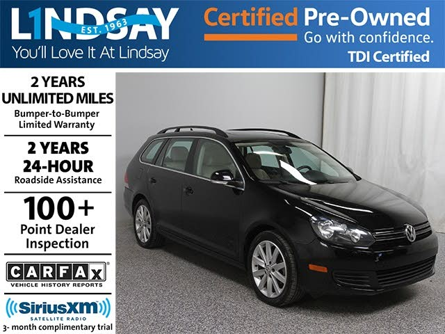 2014 Volkswagen Jetta SportWagen TDI FWD with Sunroof and Navigation