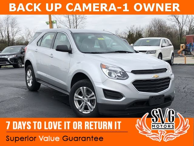 Used Chevrolet Equinox For Sale In Dayton Oh Cargurus
