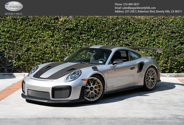 2018 Porsche 911 GT2 RS Coupe RWD