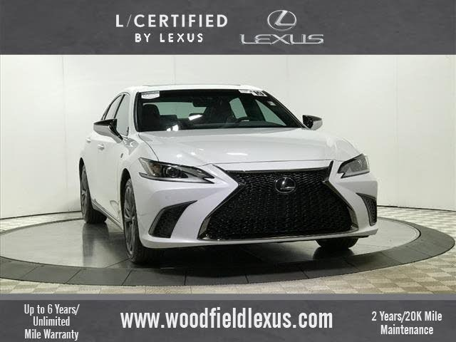 Certified 2019 Lexus Es 350 F Sport Fwd For Sale Cargurus