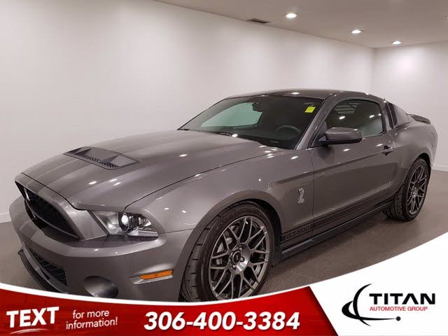 2011 Ford Mustang Shelby GT500 Coupe RWD