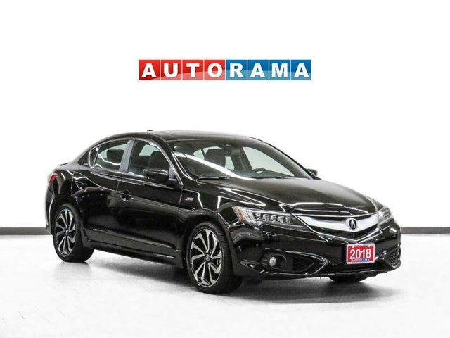 2018 Acura ILX FWD with Premium and A-Spec Package