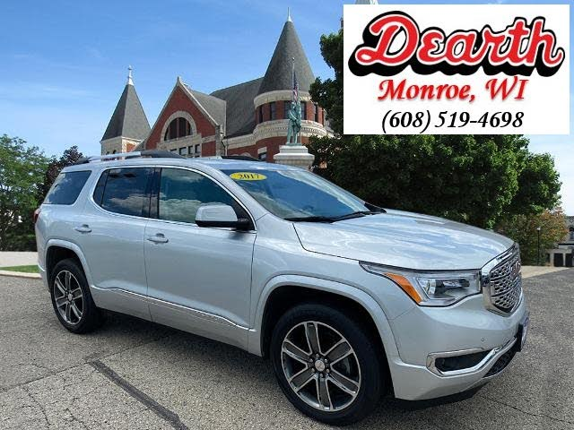 Used Gmc Acadia For Sale In Madison Wi Cargurus