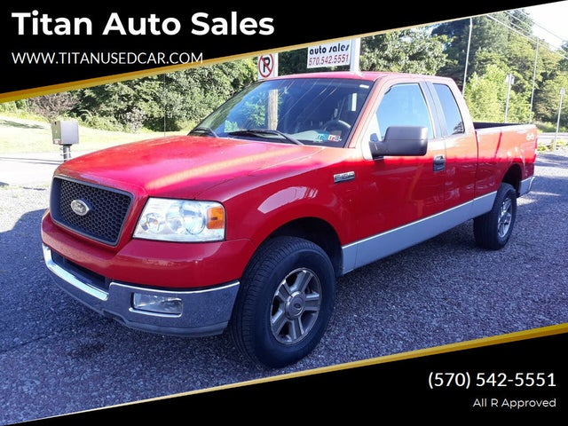 2005 Ford F-150 XLT SuperCab SB 4WD