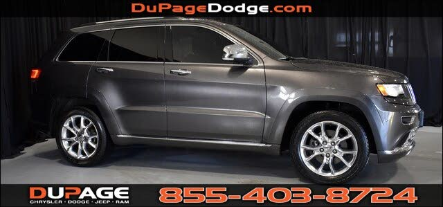 Jeep Grand Cherokee Summit 4wd For Sale In Chicago Il Cargurus