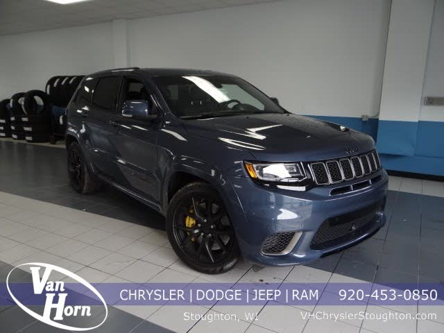Used 2019 Jeep Grand Cherokee Trackhawk 4wd For Sale With Photos