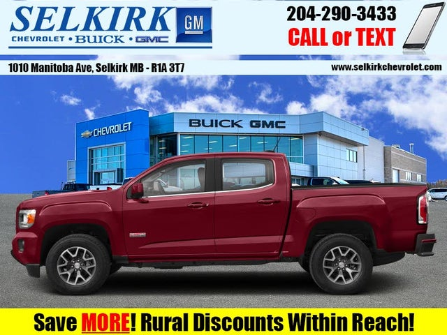 2019 GMC Canyon All Terrain Crew Cab 4WD with Cloth