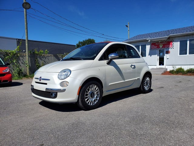 2015 FIAT 500 Lounge Convertible