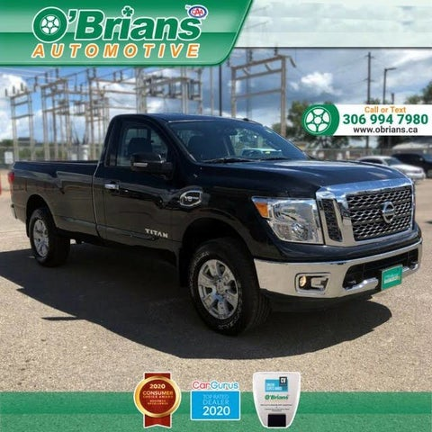 2017 Nissan Titan SV Single Cab 4WD