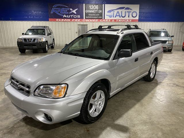 2006 Subaru Baja Turbo For Sale In Shreveport La Cargurus