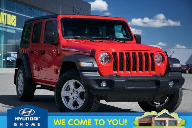 2018 Jeep Wrangler Unlimited Sport 4WD