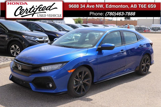 2018 Honda Civic Hatchback Sport Touring FWD