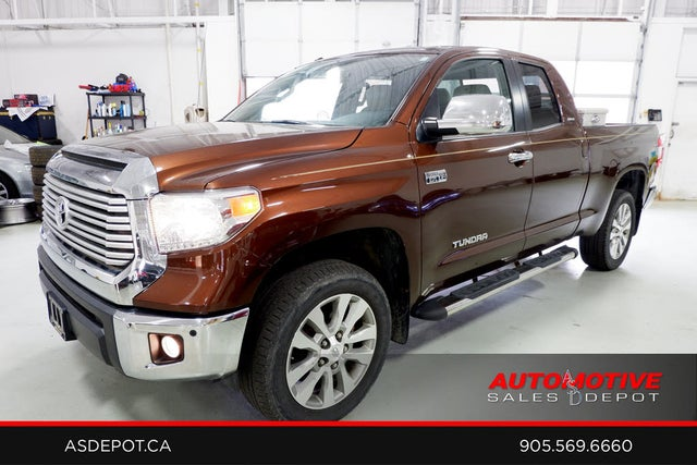 2014 Toyota Tundra Limited Double Cab 5.7L FFV 4WD
