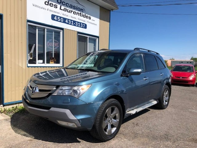 2008 Acura MDX SH-AWD with Sport and Entertainment Package
