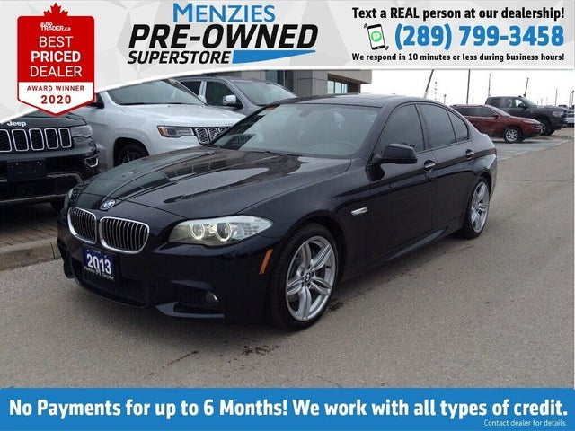 2013 BMW 5 Series 535i xDrive Sedan AWD