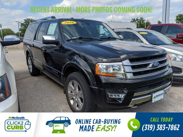 2016 Ford Expedition EL Platinum 4WD