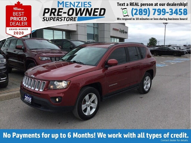 2016 Jeep Compass North 4WD