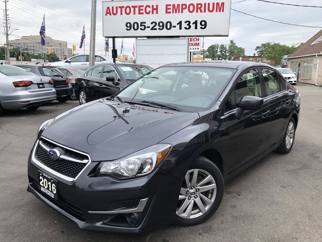 2016 Subaru Impreza 2.0i Touring Sedan AWD