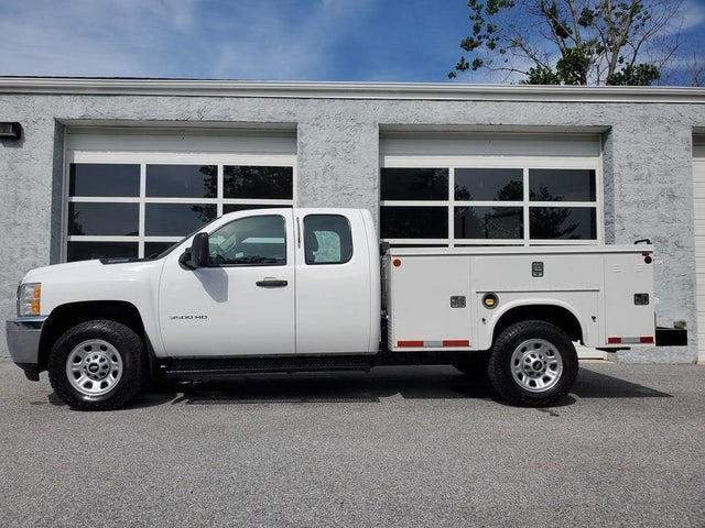2013 Chevrolet Silverado 3500HD Work Truck Extended Cab LB 4WD