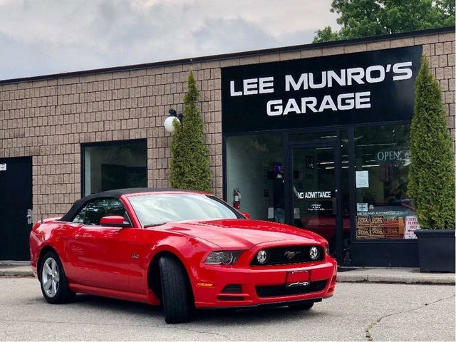 2014 Ford Mustang GT Premium Convertible RWD