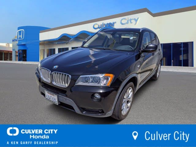 2013 BMW X3 xDrive35i AWD