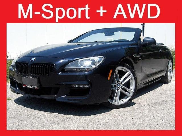 2012 BMW 6 Series 650i xDrive Convertible AWD