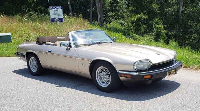 1993 Jaguar XJ-Series XJS Convertible RWD