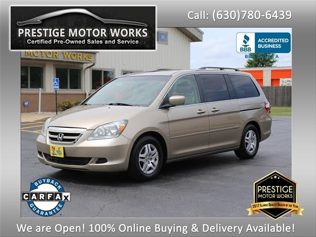 2007 Honda Odyssey Touring FWD with DVD and Navigation
