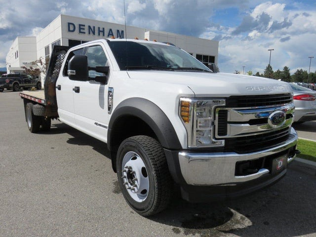 2019 Ford F-550 Super Duty Chassis XL Crew Cab DRW 4WD
