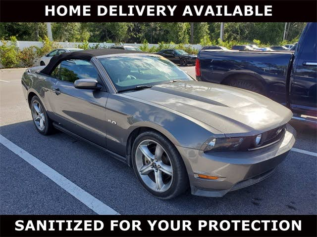 2011 Ford Mustang GT Convertible RWD