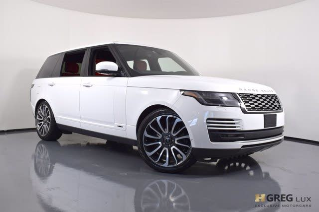 2019 Land Rover Range Rover V8 Autobiography LWB 4WD